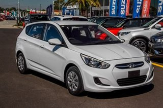 2017 Hyundai Accent RB4 MY17 Active White 6 Speed Constant Variable Hatchback.