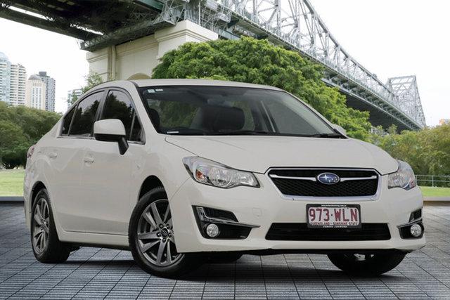 Used Subaru Impreza G4 MY16 2.0i Lineartronic AWD Premium, 2016 Subaru Impreza G4 MY16 2.0i Lineartronic AWD Premium White 6 Speed Constant Variable Sedan