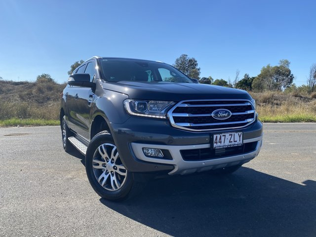 Used Ford Everest UA II 2020.25MY Trend, 2020 Ford Everest UA II 2020.25MY Trend Meteor Grey 6 Speed Sports Automatic SUV