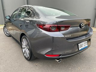 2020 Mazda 3 BP2SLA G25 SKYACTIV-Drive Evolve Machine Grey 6 Speed Sports Automatic Sedan