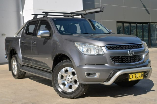 Used Holden Colorado RG MY13 LTZ Crew Cab 4x2, 2012 Holden Colorado RG MY13 LTZ Crew Cab 4x2 Grey 6 Speed Sports Automatic Utility