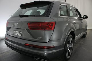 2015 Audi Q7 4M MY16 TDI Tiptronic Quattro Grey 8 Speed Sports Automatic Wagon