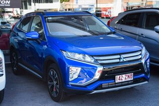 2019 Mitsubishi Eclipse Cross YA MY20 LS 2WD Lightning Blue 8 Speed Constant Variable Wagon.
