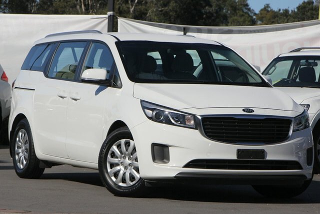 Used Kia Carnival YP MY19 S, 2018 Kia Carnival YP MY19 S White 8 Speed Sports Automatic Wagon