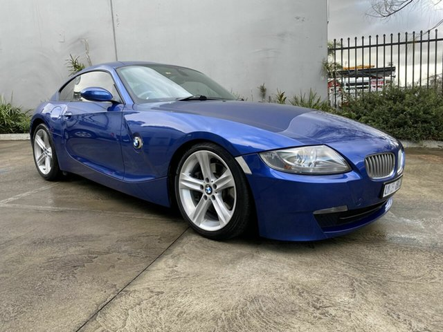 Used BMW Z4 E86 MY07 Steptronic, 2006 BMW Z4 E86 MY07 Steptronic Blue 6 Speed Sports Automatic Coupe