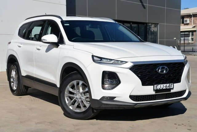 Used Hyundai Santa Fe TM MY19 Active, 2019 Hyundai Santa Fe TM MY19 Active White 8 Speed Sports Automatic Wagon