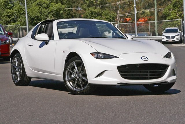 New Mazda MX-5 ND GT RF SKYACTIV-Drive, 2020 Mazda MX-5 ND GT RF SKYACTIV-Drive 6 Speed Sports Automatic Targa