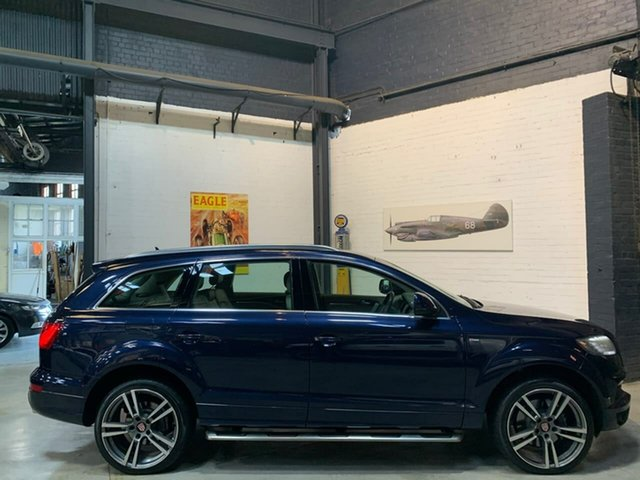Used Audi Q7 MY13 TDI Tiptronic Quattro, 2013 Audi Q7 MY13 TDI Tiptronic Quattro Blue 8 Speed Sports Automatic Wagon