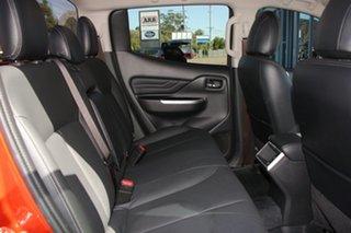 2020 Mitsubishi Triton MR MY20 GSR Double Cab Sunflare Orange 6 Speed Sports Automatic Utility