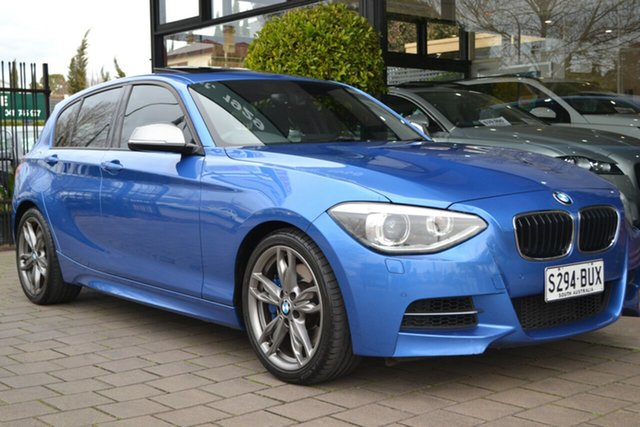 Used BMW 1 Series F20 M135i Steptronic, 2013 BMW 1 Series F20 M135i Steptronic Blue 8 Speed Sports Automatic Hatchback