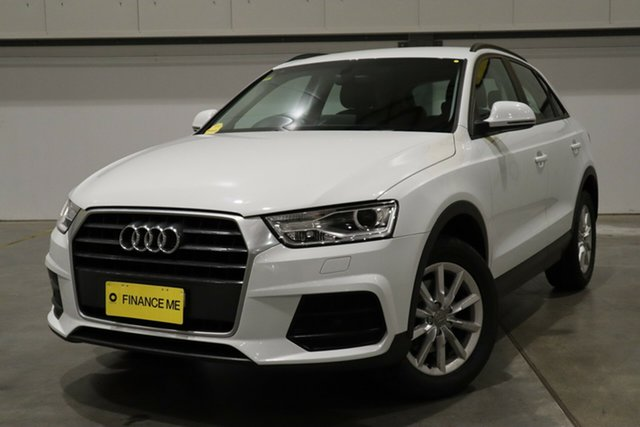 Used Audi Q3 8U MY18 TFSI S Tronic Castle Hill, 2018 Audi Q3 8U MY18 TFSI S Tronic White 6 Speed Sports Automatic Dual Clutch Wagon