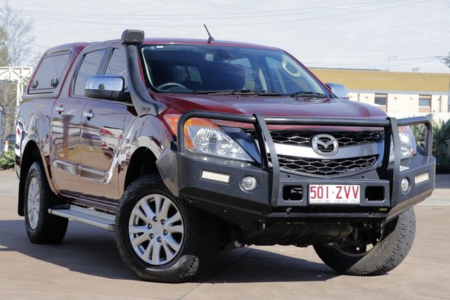 Used Mazda BT-50 UP0YF1 GT, 2014 Mazda BT-50 UP0YF1 GT Copper Red 6 Speed Sports Automatic Utility