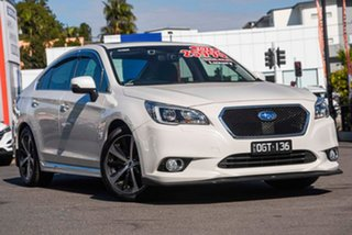 2015 Subaru Liberty B6 MY16 3.6R CVT AWD White Pearl 6 Speed Constant Variable Sedan.