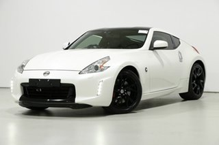 2014 Nissan 370Z Z34 MY15 White 7 Speed Automatic Coupe.