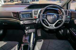 2016 Honda Civic 9th Gen Ser II MY15 VTi White 5 Speed Sports Automatic Sedan