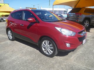 2011 Hyundai ix35 LM MY11 Highlander AWD Red 6 Speed Sports Automatic Wagon.