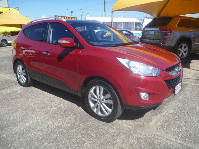 Used Hyundai ix35 LM MY11 Highlander AWD, 2011 Hyundai ix35 LM MY11 Highlander AWD Red 6 Speed Sports Automatic Wagon