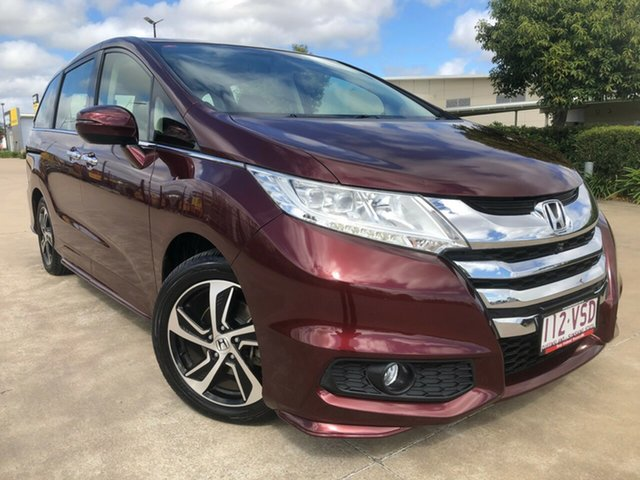 Used Honda Odyssey RC MY15 VTi-L, 2015 Honda Odyssey RC MY15 VTi-L Red 7 Speed Constant Variable Wagon