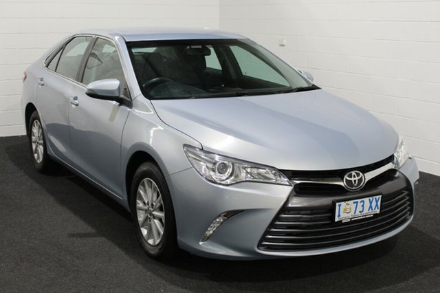 Used Toyota Camry ASV50R Altise Glenorchy, 2015 Toyota Camry ASV50R Altise Blue 6 Speed Sports Automatic Sedan