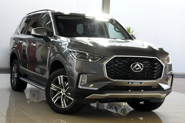 New LDV D90 SV9A MY19 Executive Gladstone, 2021 LDV D90 SV9A MY19 Executive Grey Metallic 8 Speed Sports Automatic Wagon