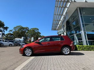 2020 Volkswagen Golf 7.5 MY20 110TSI DSG Trendline Red 7 Speed Sports Automatic Dual Clutch.