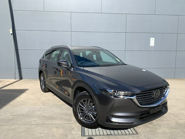 New Mazda CX-8 KG2WLA Sport SKYACTIV-Drive FWD, 2020 Mazda CX-8 KG2WLA Sport SKYACTIV-Drive FWD Machine Grey 6 Speed Sports Automatic Wagon