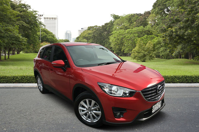 Used Mazda CX-5 KE1022 Maxx SKYACTIV-Drive AWD Sport, 2016 Mazda CX-5 KE1022 Maxx SKYACTIV-Drive AWD Sport Red 6 Speed Sports Automatic Wagon