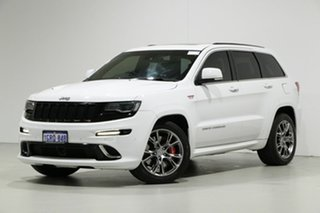 2014 Jeep Grand Cherokee WK MY14 SRT 8 (4x4) White 8 Speed Automatic Wagon.