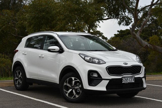 Demo Kia Sportage QL MY20 S 2WD, 2020 Kia Sportage QL MY20 S 2WD Clear White 6 Speed Manual Wagon