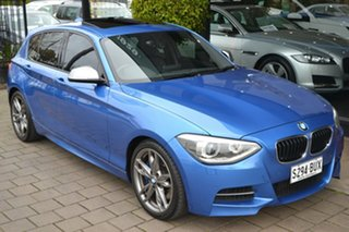 2013 BMW 1 Series F20 M135i Steptronic Blue 8 Speed Sports Automatic Hatchback.