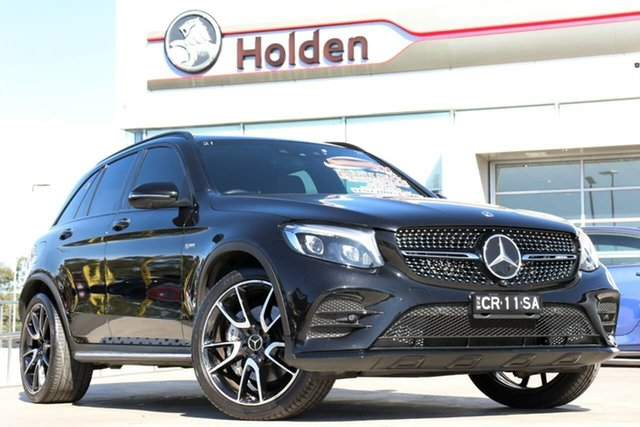 Used Mercedes-Benz GLC-Class X253 808MY GLC43 AMG 9G-Tronic 4MATIC, 2018 Mercedes-Benz GLC-Class X253 808MY GLC43 AMG 9G-Tronic 4MATIC Obsidian Black 9 Speed