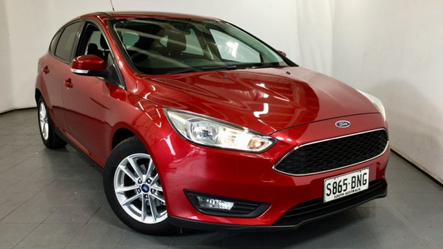 Used Ford Focus LZ Trend, 2016 Ford Focus LZ Trend Red 6 Speed Automatic Hatchback