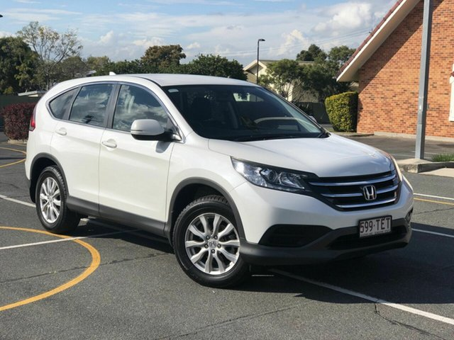 Used Honda CR-V 30 VTi (4x2) Navi, 2013 Honda CR-V 30 VTi (4x2) Navi White 5 Speed Automatic Wagon