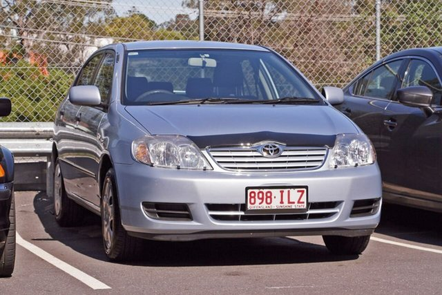 Used Toyota Corolla ZZE122R 5Y Ascent, 2005 Toyota Corolla ZZE122R 5Y Ascent Blue 4 Speed Automatic Sedan