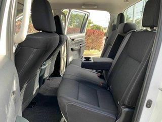 2015 Toyota Hilux GUN136R SR White 6 Speed Manual Dual Cab