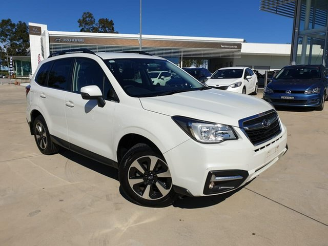 Used Subaru Forester S4 MY17 2.5i-L CVT AWD, 2017 Subaru Forester S4 MY17 2.5i-L CVT AWD Crystal White Pearl 6 Speed Constant Variable Wagon