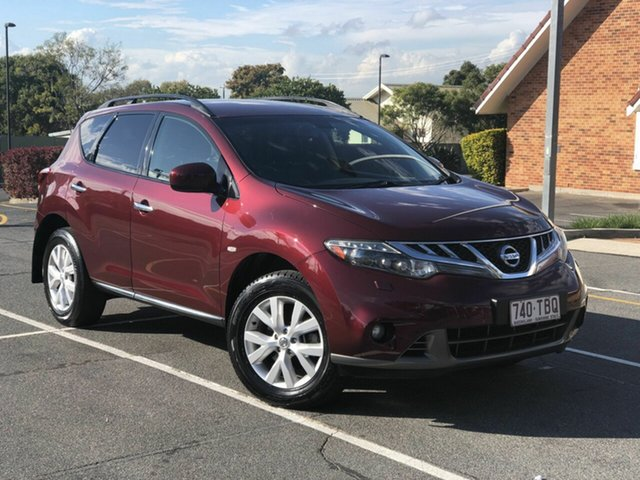 Used Nissan Murano Z51 Series 3 ST, 2012 Nissan Murano Z51 Series 3 ST Maroon 6 Speed Constant Variable Wagon