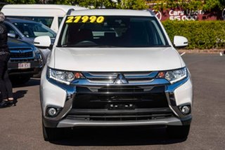 2017 Mitsubishi Outlander ZK MY17 LS 4WD Safety Pack White 6 Speed Sports Automatic Wagon