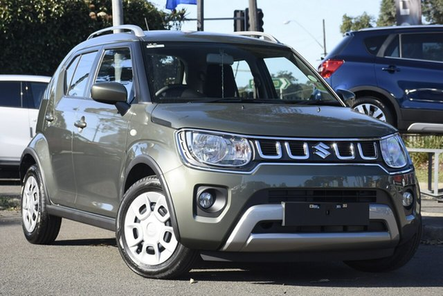 New Suzuki Ignis MF Series II GL Springwood, 2021 Suzuki Ignis MF Series II GL Khaki 1 Speed Constant Variable Hatchback