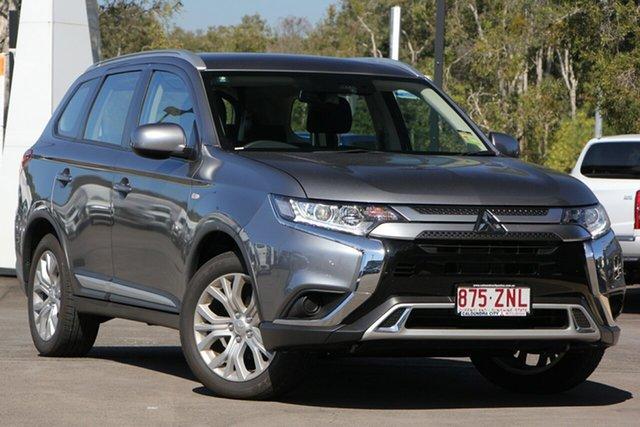 Demo Mitsubishi Outlander ZL MY19 ES 2WD, 2019 Mitsubishi Outlander ZL MY19 ES 2WD Titanium 6 Speed Constant Variable Wagon
