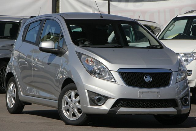 Used Holden Barina Spark MJ MY12 CD, 2012 Holden Barina Spark MJ MY12 CD Silver 5 Speed Manual Hatchback