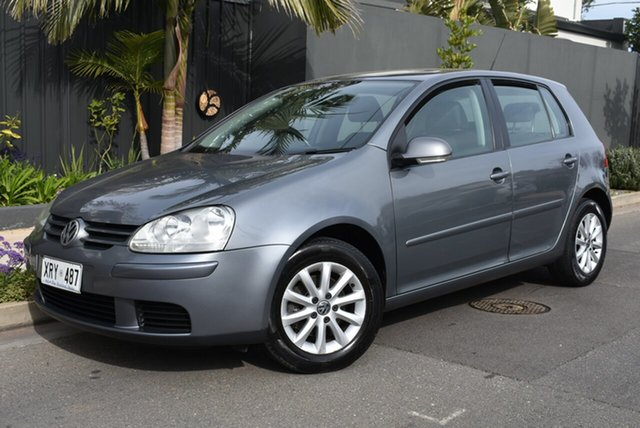 Used Volkswagen Golf V MY08 Edition, 2008 Volkswagen Golf V MY08 Edition Silver 6 Speed Manual Hatchback