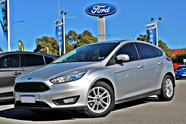 Used Ford Focus LZ Trend, 2016 Ford Focus LZ Trend Silver 6 Speed Automatic Hatchback