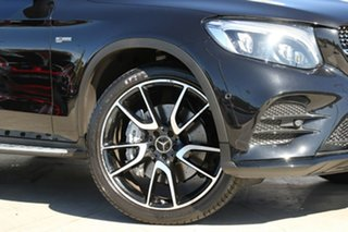 2018 Mercedes-Benz GLC-Class X253 808MY GLC43 AMG 9G-Tronic 4MATIC Obsidian Black 9 Speed