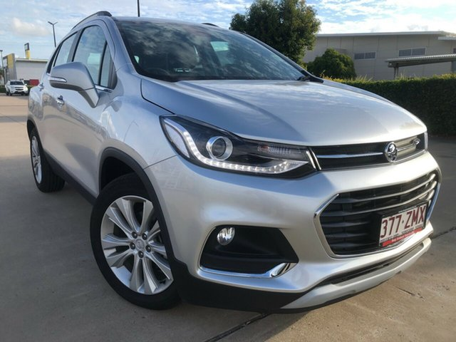 Used Holden Trax TJ MY19 LTZ, 2019 Holden Trax TJ MY19 LTZ Silver 6 Speed Automatic Wagon