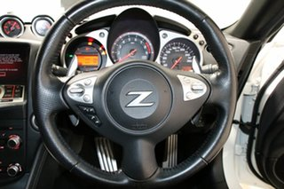 2014 Nissan 370Z Z34 MY15 White 7 Speed Automatic Coupe