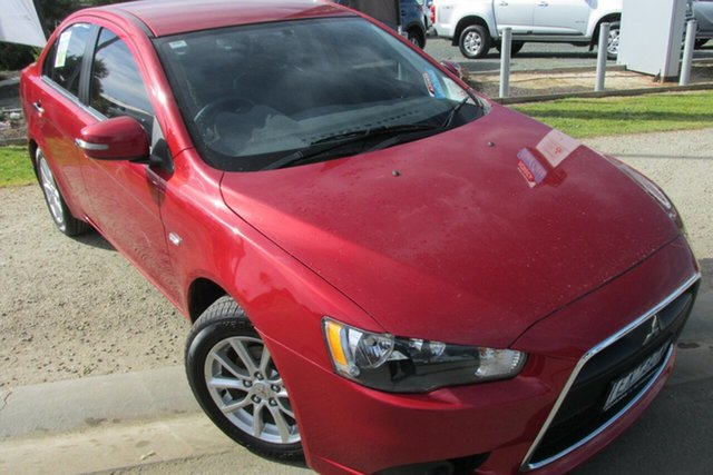 Used Mitsubishi Lancer CJ MY15 LS, 2014 Mitsubishi Lancer CJ MY15 LS Red 6 Speed Constant Variable Sedan