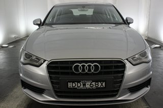 2016 Audi A3 8V MY16 Attraction S Tronic Silver 7 Speed Sports Automatic Dual Clutch Sedan.