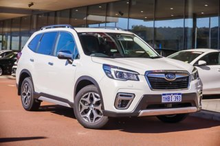 2020 Subaru Forester S5 Hybrid L White Constant Variable.