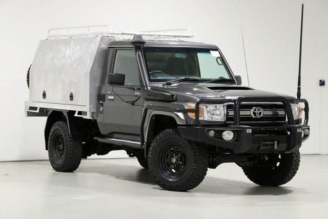 Used Toyota Landcruiser VDJ79R MY12 Update GXL (4x4), 2016 Toyota Landcruiser VDJ79R MY12 Update GXL (4x4) Grey 5 Speed Manual Cab Chassis